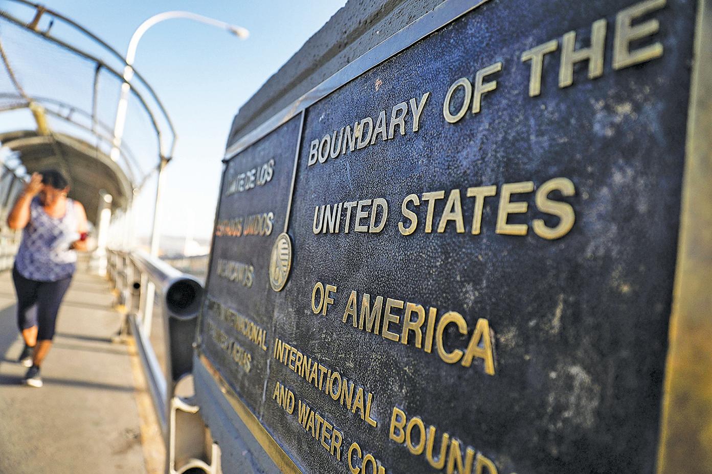 美墨邊境是美國非法移民進入的最主要通道。(Getty Images)