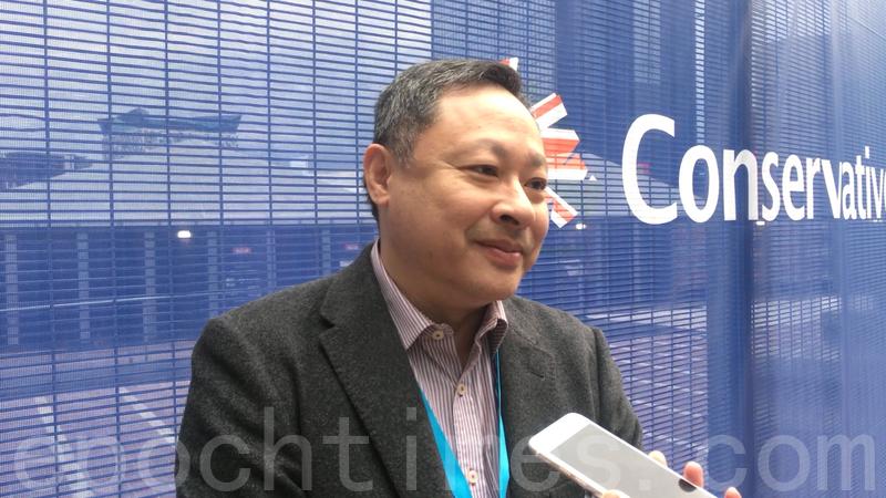 戴耀廷表示香港的法治在惡化,法律在某些情況下被扭曲甚至用作打壓。(陸漫/大紀元)