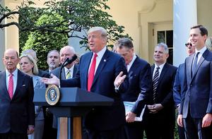 美加墨貿易協定獲特朗普盛讚 或助美與中共貿易戰一臂之力