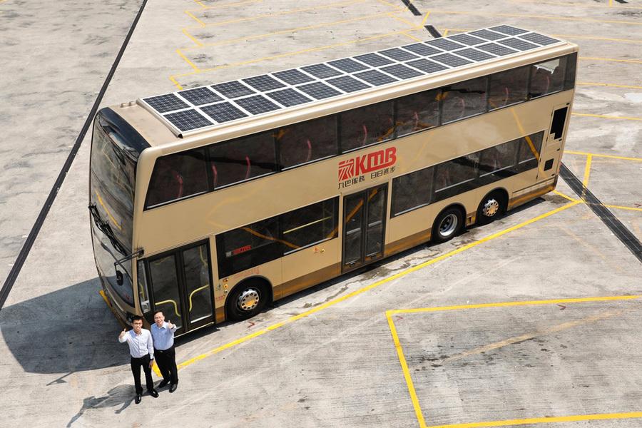 九巴研第二代太陽能巴士