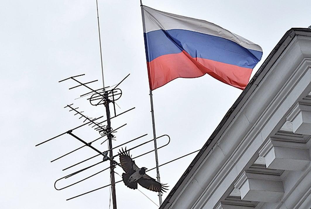 俄羅斯曾經介入干預 2016 年美國總統大選。圖為俄羅斯國旗。(Getty Images)