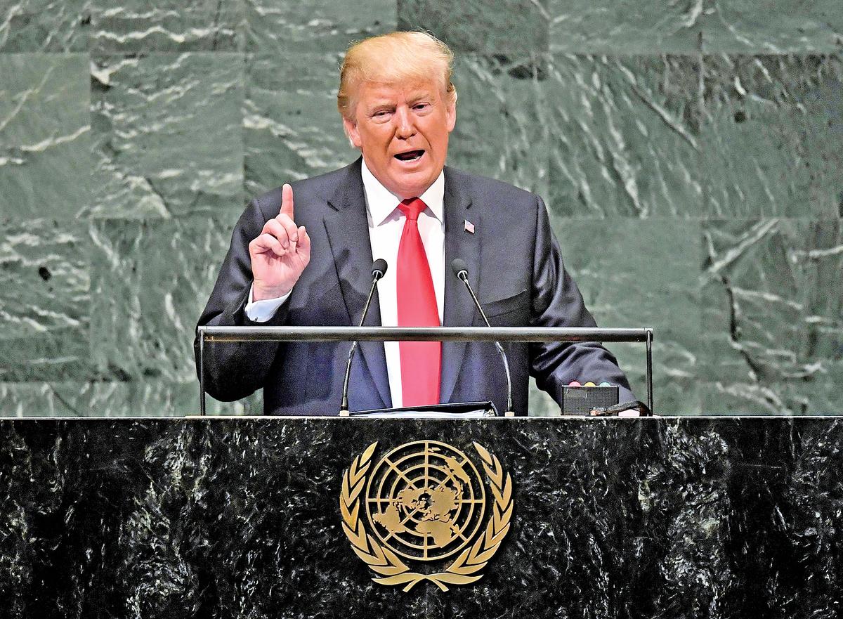 特朗普總統表示,習近平可能不會再是他的朋友了。(Getty Images)