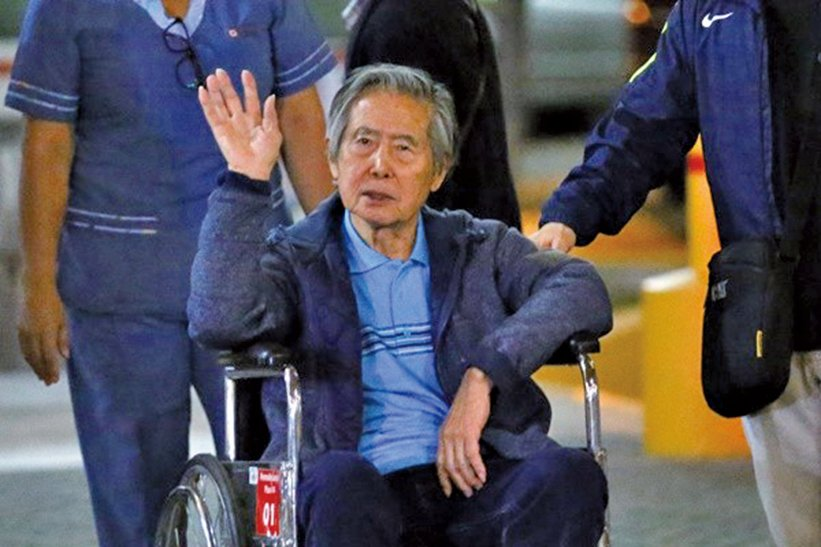 秘魯法院撤銷前總統籐森特赦