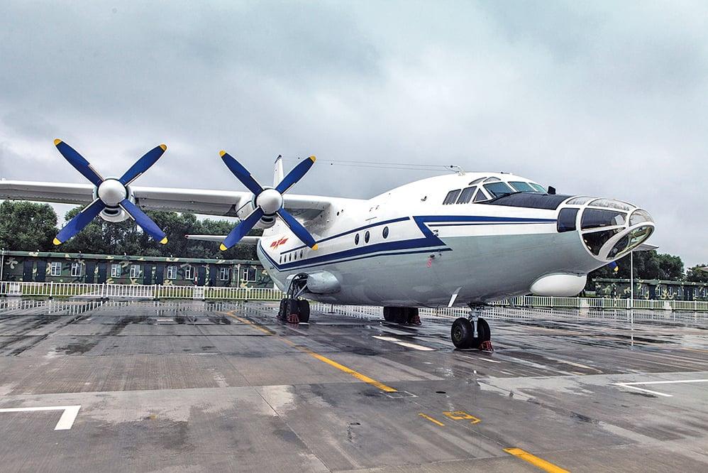 中共運-8運輸機被出口到哈薩克斯坦。(大紀元資料室)