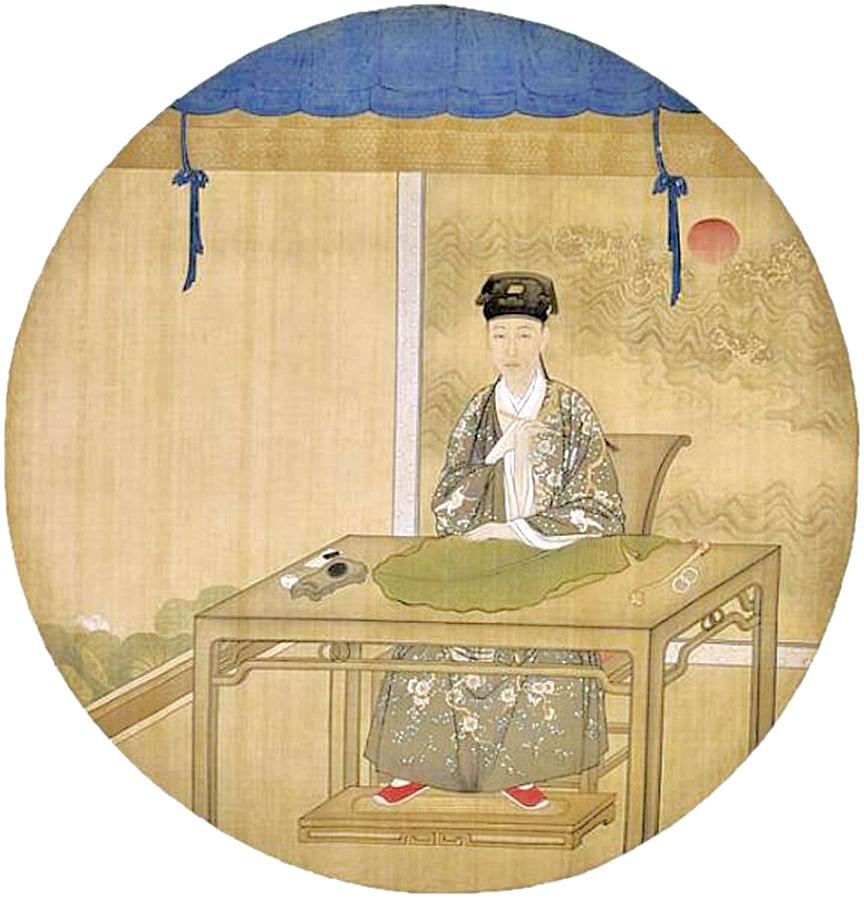 乾隆帝一生酷愛中華文化。乾隆帝漢裝畫像(圖片:wikimedia commons)