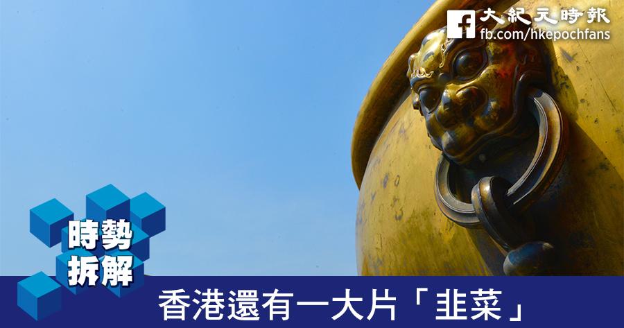 【時勢拆解】香港還有一大片「韭菜」