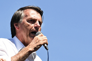 巴西總統大選 「巴西版特朗普」支持度高