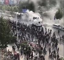 山東老兵抗千警 雙方激戰