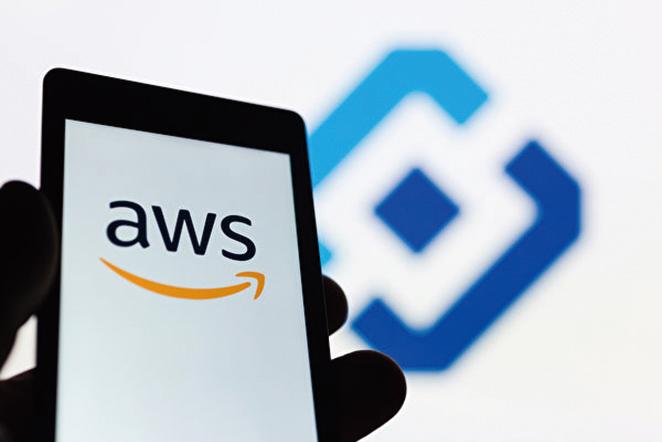 亞馬遜的網絡服務公司(AWS)是雲服務領域的龍頭老大。(shutterstock)