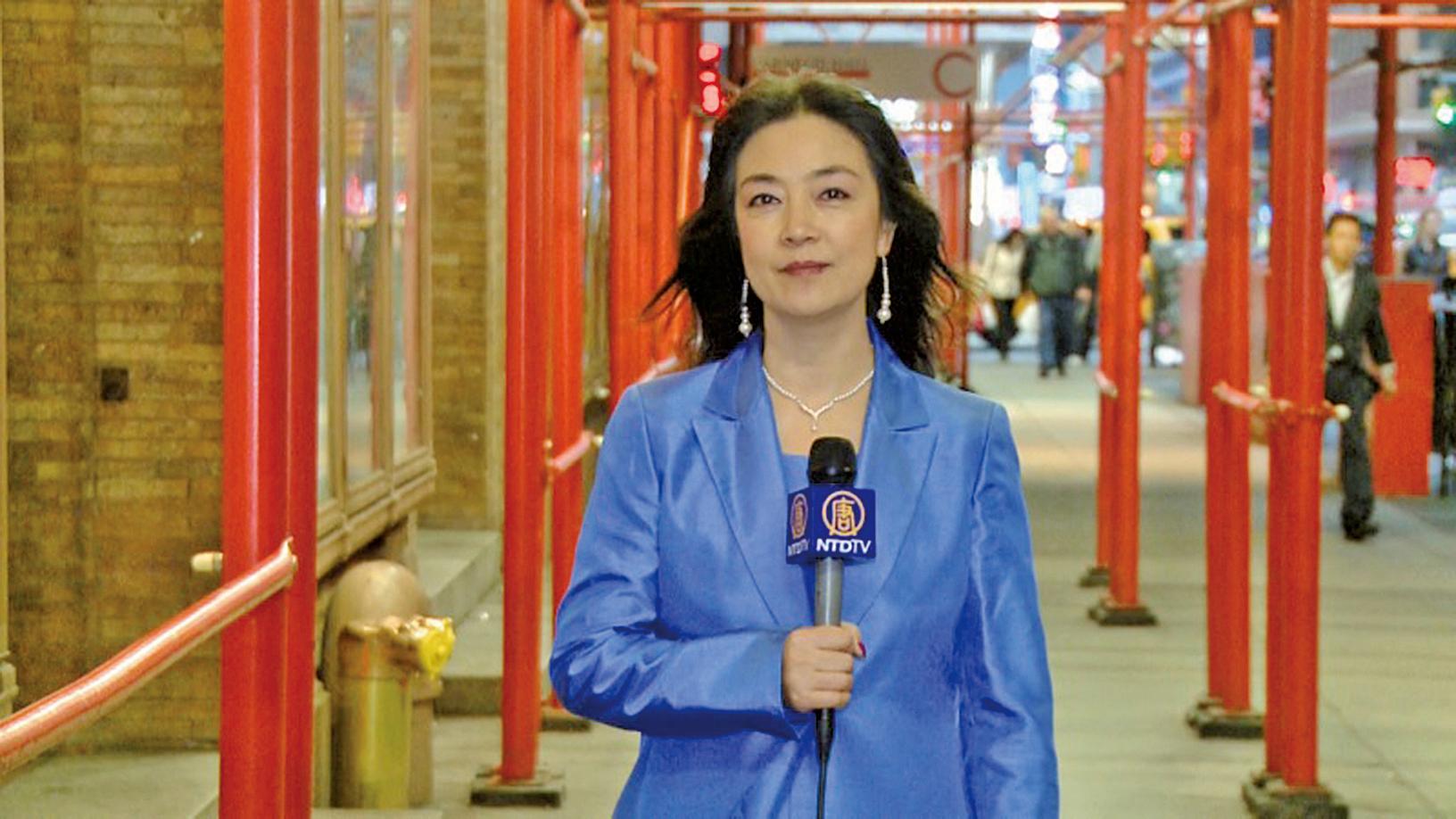 身在美國的英文《大紀元時報》記者曾錚,母親日前欲赴美探親時遭中共註銷護照。她去信美國總統特朗普呼籲保護記者在華家人。(曾錚博客圖片)