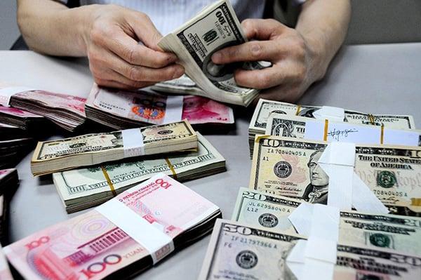 美中貿易戰持續升級之際,美國越來越關注中國貨幣貶值,以及遠離「市場化(經濟)政策」的現象。(Getty Images)