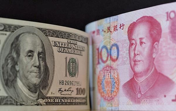 IMF指出,美中互以關稅報復,對全球經濟造成的影響,到2019年將更顯著。(中央社)