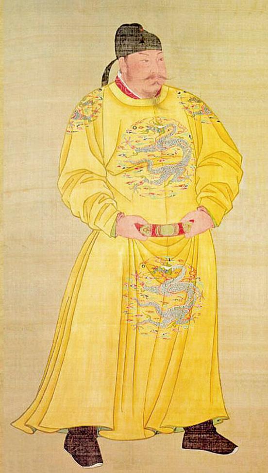 唐太宗像(公共領域)