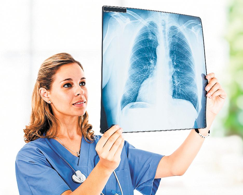 現代醫學將肺氣腫、支氣管擴張症、肺纖維化等視為不治之症。(shutterstock)