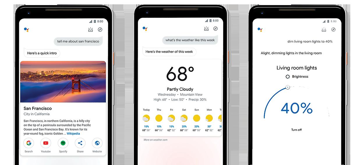 谷歌對語音助理Google Assistant的視覺設計做出了重大更新。(Google)