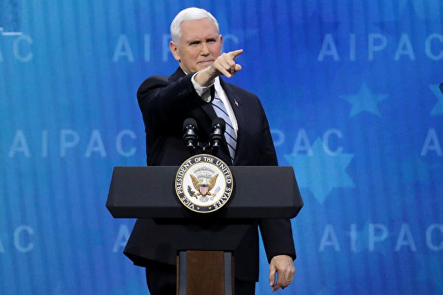 美國副總統彭斯。(Chip Somodevilla/Getty Images)