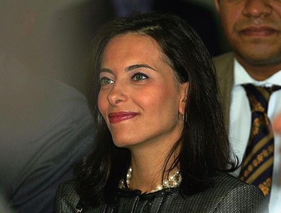 美國總統特朗普表示,考慮提名高盛高管鮑威爾(Dina Powell)擔任下一任美國駐聯合國大使。(AFP)