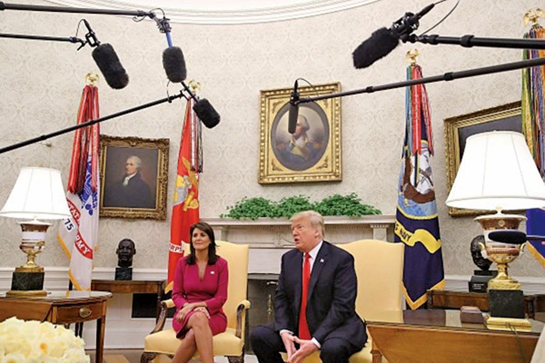特朗普9日在白宮發出警告,若中共繼續對美國採取報復行動,他將再對2670億美元的中國商品加徵關稅,屆時貿易戰會全面開打。(Getty Images)