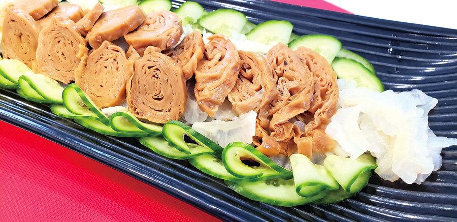 【梁廚美食】素食腐皮扎蹄