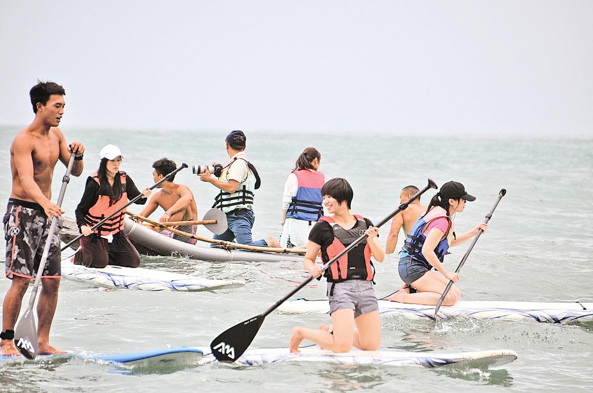 台灣東海岸最大的阿美族部落「都歷部落」。