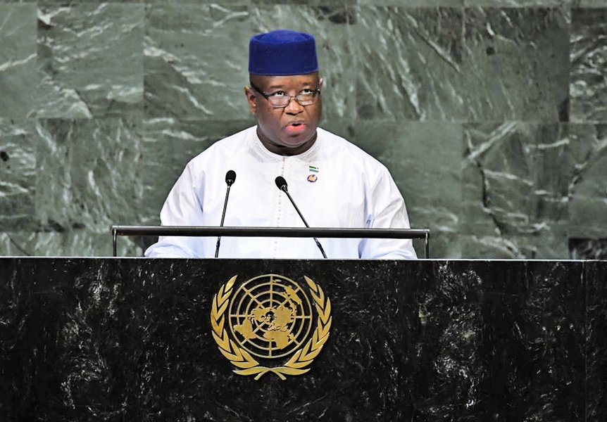 塞拉利昂取消中資一帶一路項目