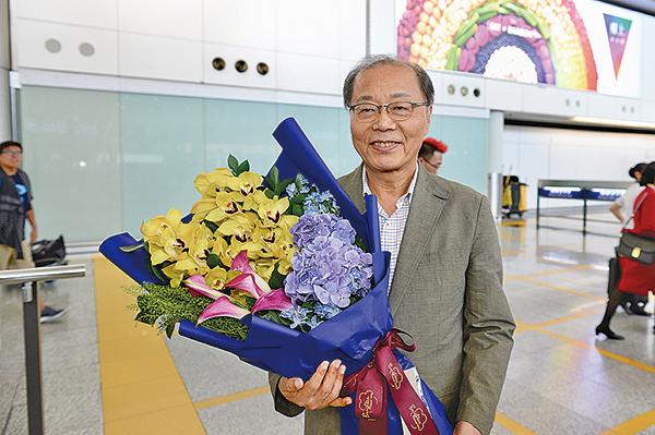 扁康韓醫院院長徐孝錫昨日抵港,將在周六一場講座介紹他獨創的扁康療法。(宋碧龍/大紀元)