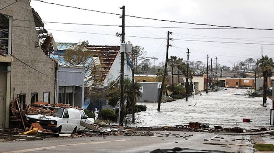 滔天颶風邁克爾襲美佛州