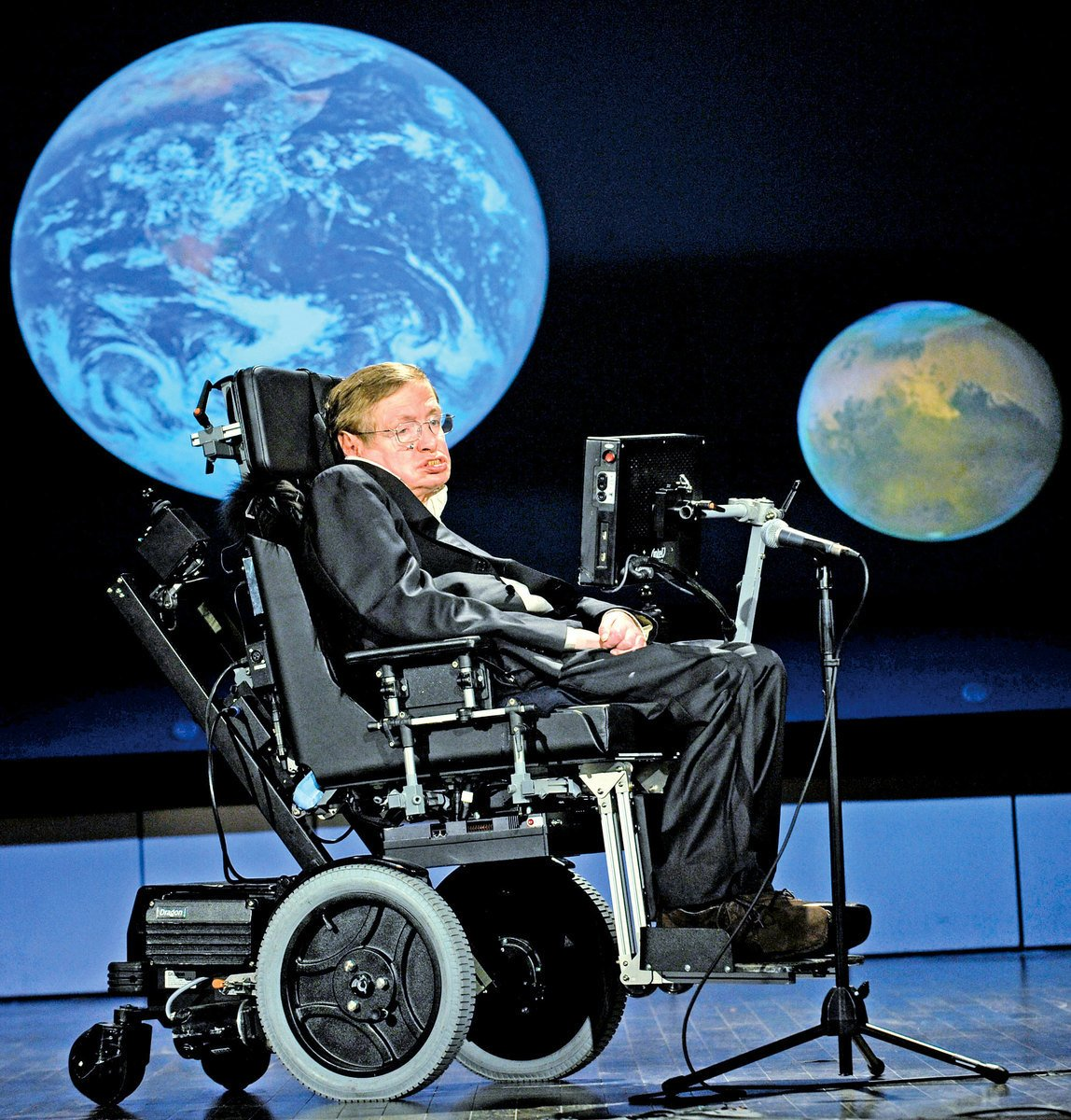 史蒂芬霍金(Stephen Hawking)。(Wikimedia Commons)