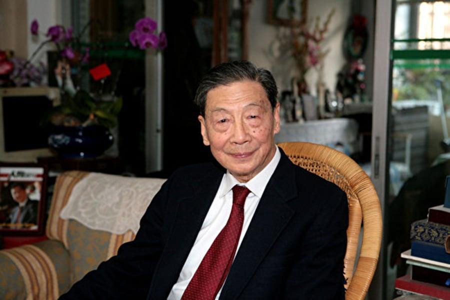 著名經濟學家茅于軾(圖)此前對大紀元說:中國不但是共產黨國家,而且還是黨天下,共產黨無事不管。(大紀元資料室)