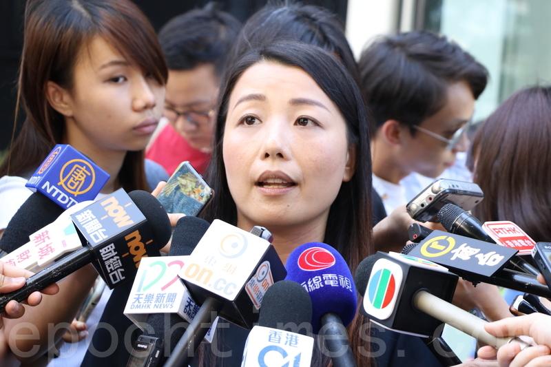 劉小麗上周五正式被選舉主任裁定其提名無效,取消其參選資格。(大紀元資料圖片)
