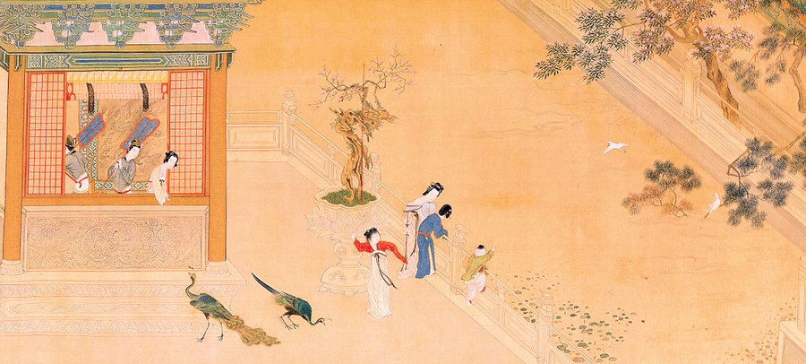 穿越二千年《漢宮春曉》重現後宮嬪妃生活(一)