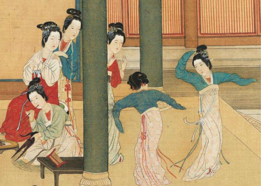 穿越二千年《漢宮春曉》重現後宮嬪妃生活(二)