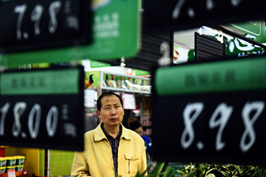 大陸9月物價漲幅創7個月新高 食品增幅大