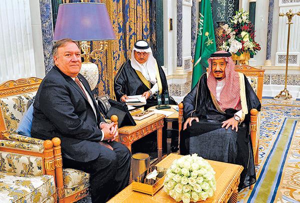 蓬佩奧訪沙特促查華郵記者案