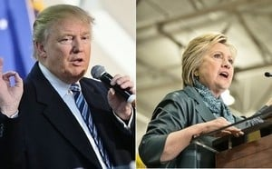 特朗普對決希拉莉 美大選將創六項紀錄