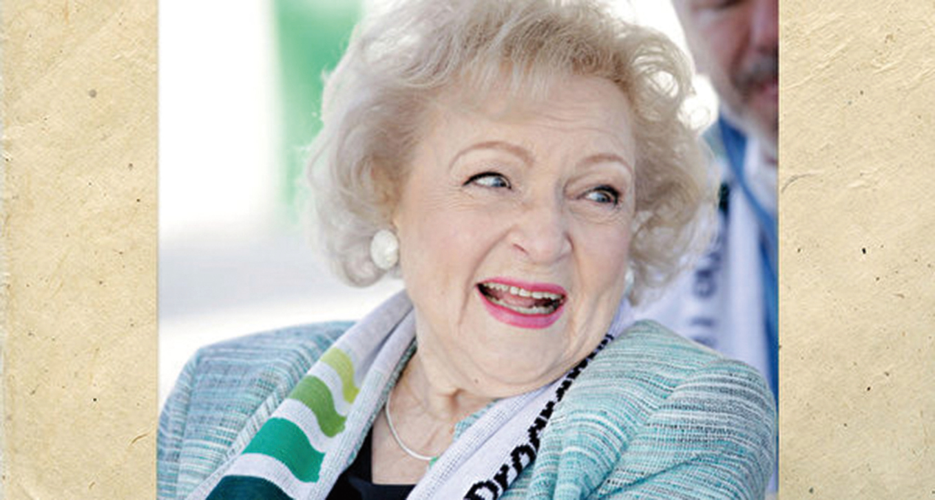 貝蒂·懷特(Betty White)。(Photo by Brian To/Getty Images for The Lifeline Program)