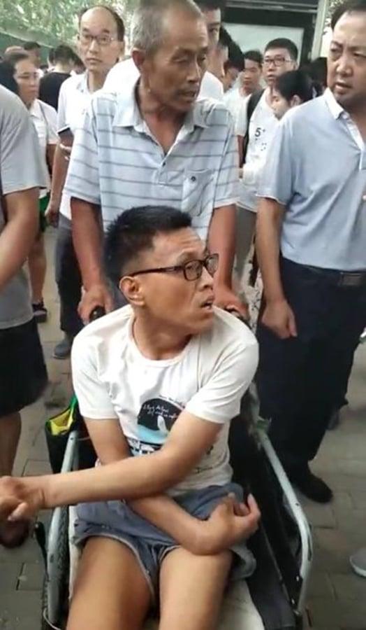 「輪椅哥」想賣器官維權 斐訊難友的悲歌