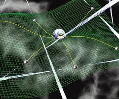 新研究 引力波可用於太空中長程信息傳輸