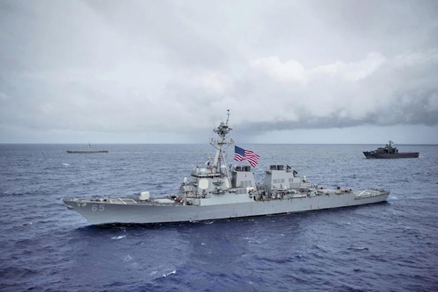 美軍或再派戰艦通過台海