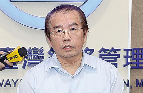 台鐵局長鹿潔身承認已經「口頭請辭」。(中央社)