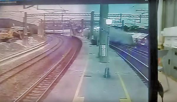 22日意外發生一刻片段曝光。(網絡截圖)