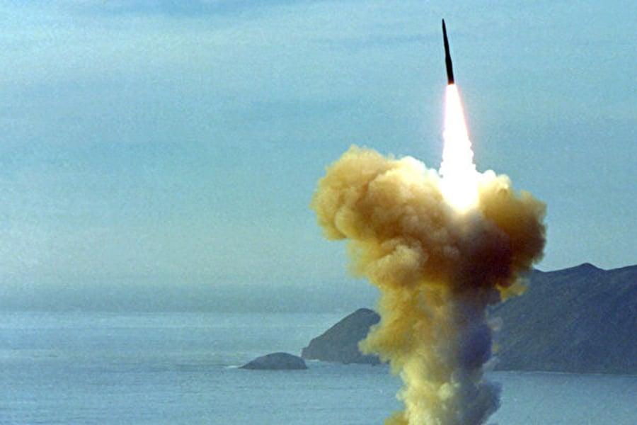 多家媒體分析認為,特朗普這次宣佈退出《中導條約》,除了因為俄羅斯違背條約外,背後還隱藏著另外一種動機,那就是應對中共無約束發展導彈。圖為LGM-30義勇兵洲際彈道導彈。(U.S. Air Force photo)