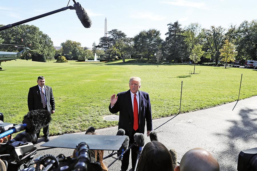 特朗普:為中產階層減稅10% 兩周內公佈計劃