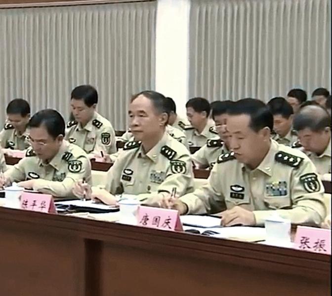 傳火箭軍副政委唐國慶落馬