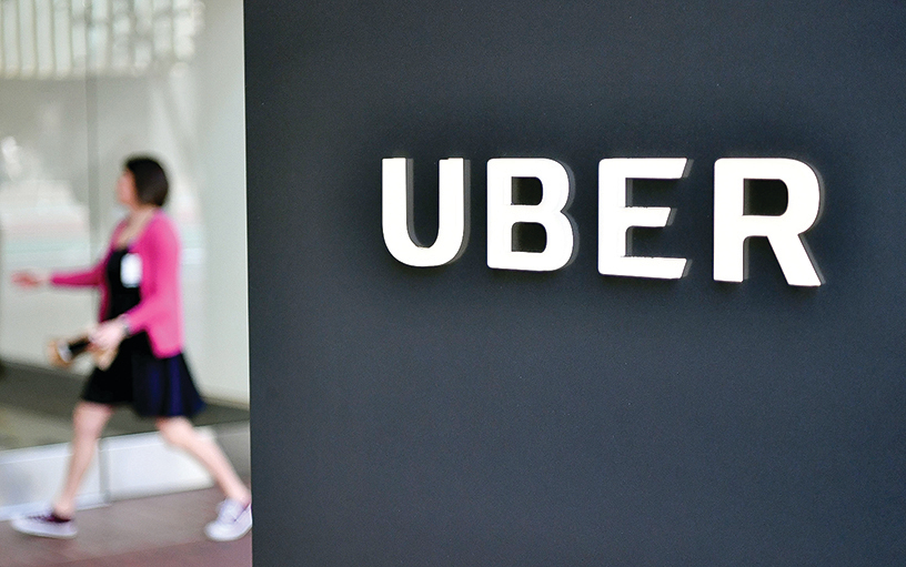 Uber預計將於明年上市,銀行對該公司的估值高達1,200億美元。(JOSH EDELSON/AFP/Getty Images)