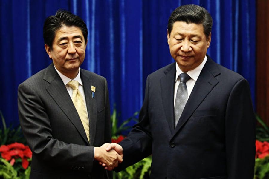 【新聞看點】安倍訪華 日本兩動作北京尷尬