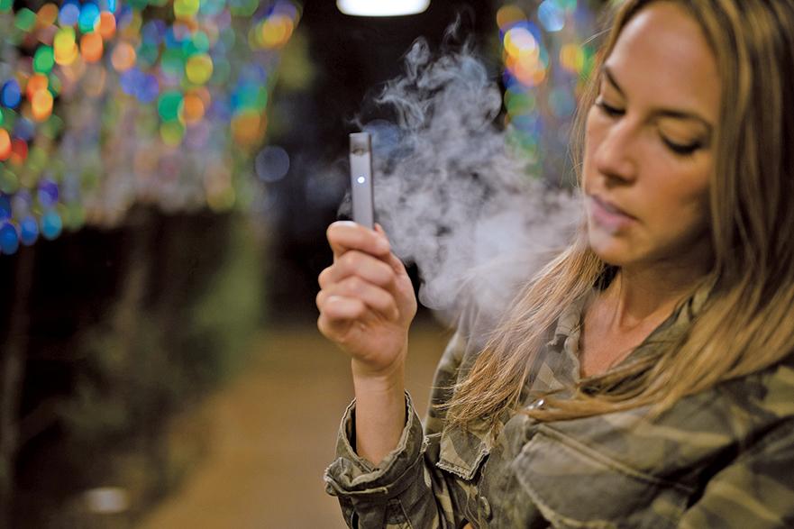 FDA近日更對美國五大電子煙製造商之一的電子煙公司Juul Labs進行最新一波突擊檢查,沒收了與其營銷相關的一千多頁文件。(pixabay)