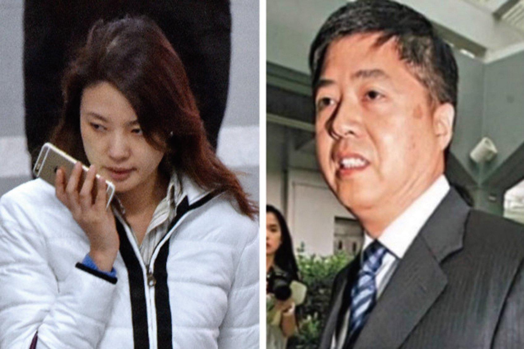 央視女主持劉芳菲(左)的丈夫、香港君怡酒店老闆劉希泳(右)在吉林被逼供致死案在天津宣判,案件內幕重重。(網絡圖片)