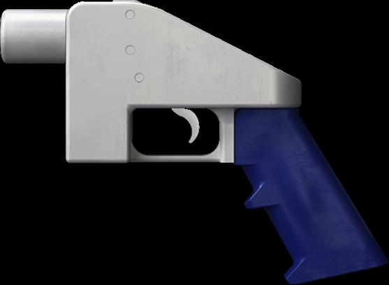 三維打印的手槍Liberator。(維基百科)