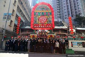 東華三院文武廟秋祭承傳統